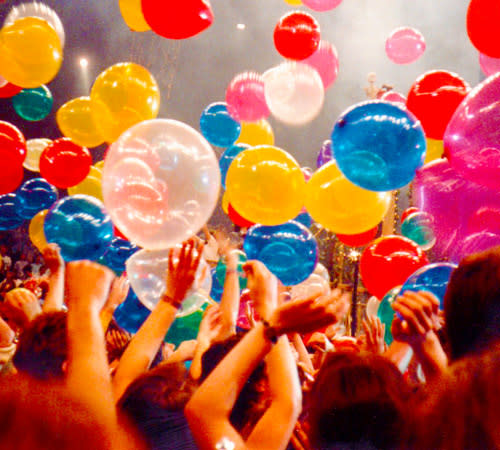 Balloon Drop Stock Image