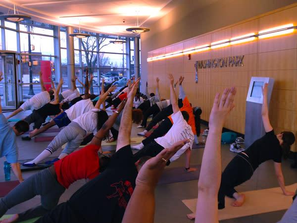 Yoga at Washington Park2