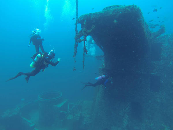 Diving Shipwrecks