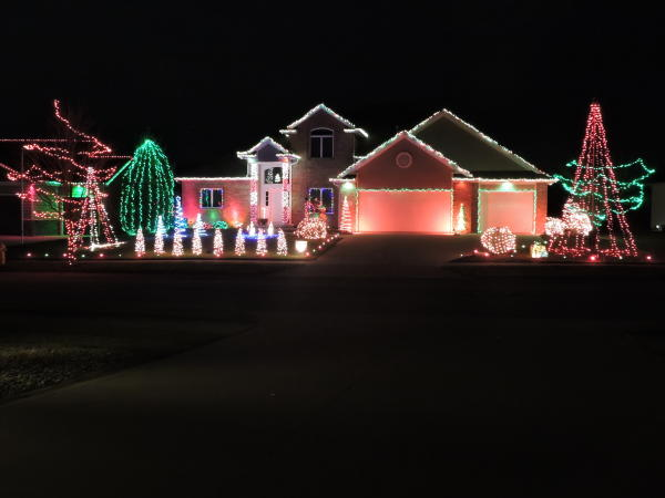 Best Christmas Lights Displays- 12215 Bufflehead Run