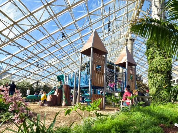 Fairy Tales at the Botanical Conservatory