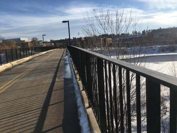 Footbridge UWEC