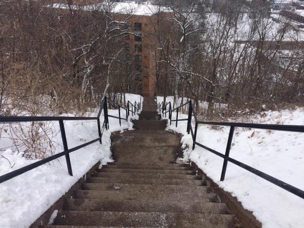 Eastside Hill Neighborhood Steps