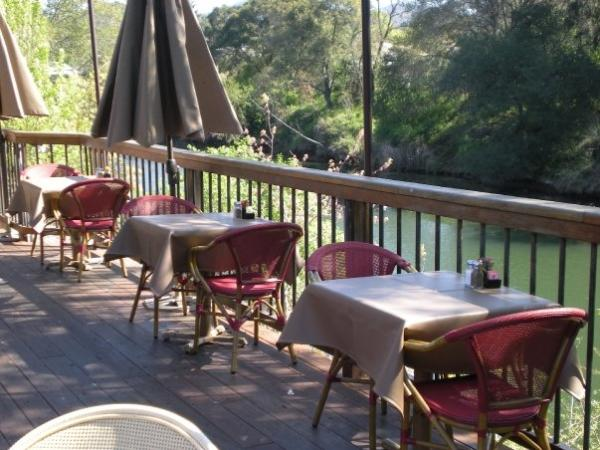 Compadres River Grill Patio