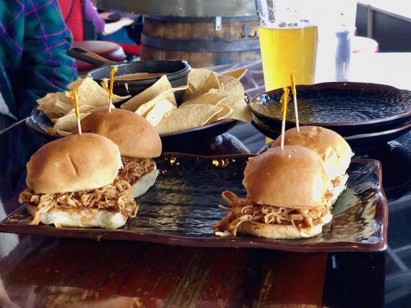 BBQ Sandwiches at Cowboy Jack's