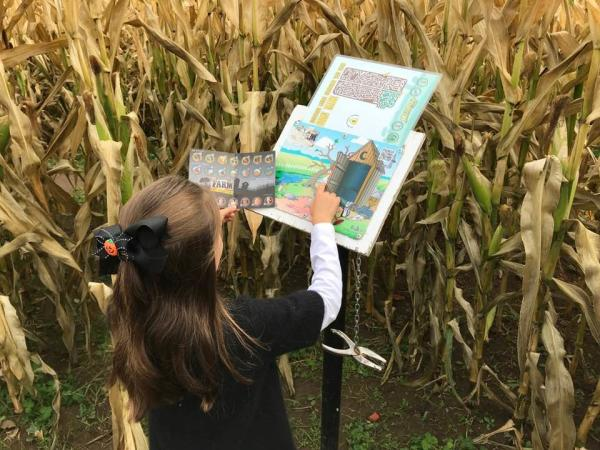 Solving the Corn Maze Mystery by Taj Morgan