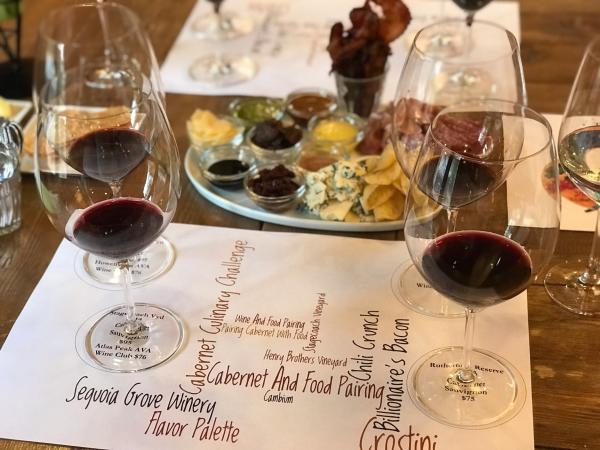 Sequoia Grove Food & Wine Pairing