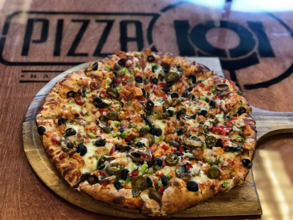 Pizza at Pizza 101