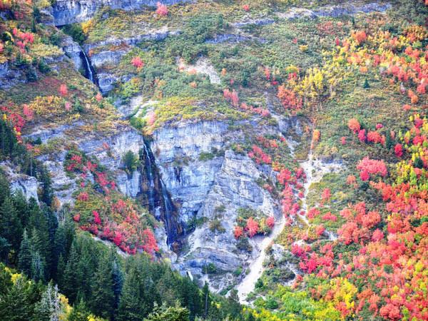 10 Waterfalls in Utah Valley that Will Take Your Breath Away - Stewart Falls