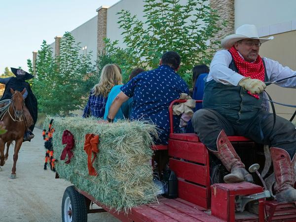 Headlesss Horseman Wagon Ride
