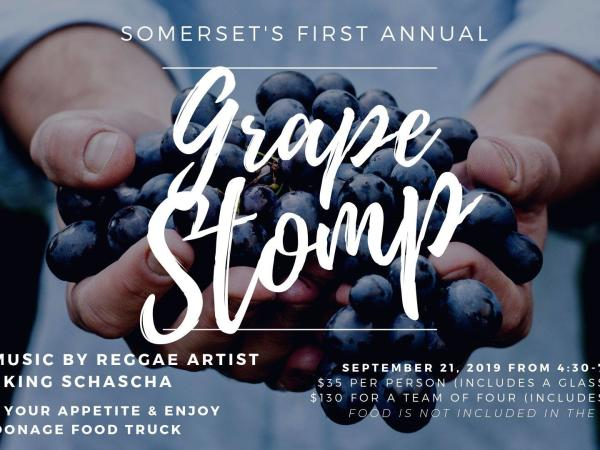 Somerset's First Annual Grape Stomp