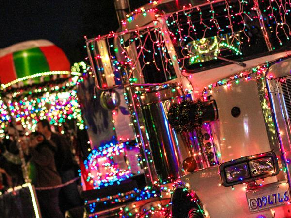 Santa's Electric Light Parade
