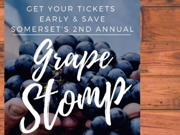 Somerset's 2nd Annual Grape Stomp 2020