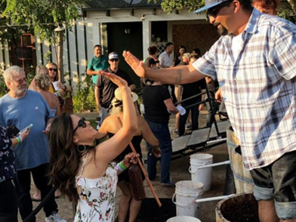 17th Annual Grape Stomp