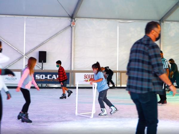 Peltzer Ice Skating Rink