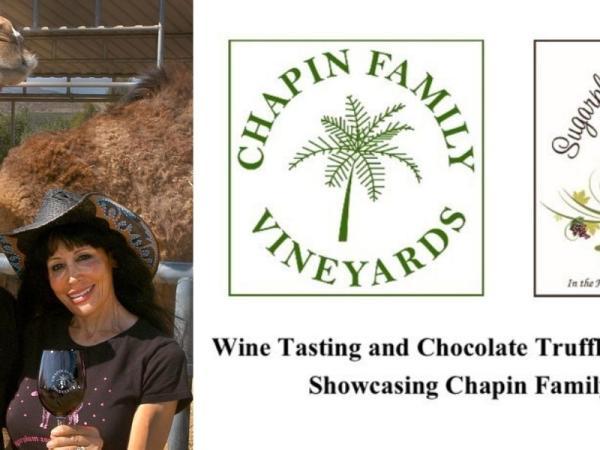 Wine Tasting and Chocolate Truffle Pairing