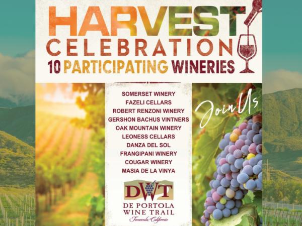 2021 De Portola Wine Trail Harvest Festival