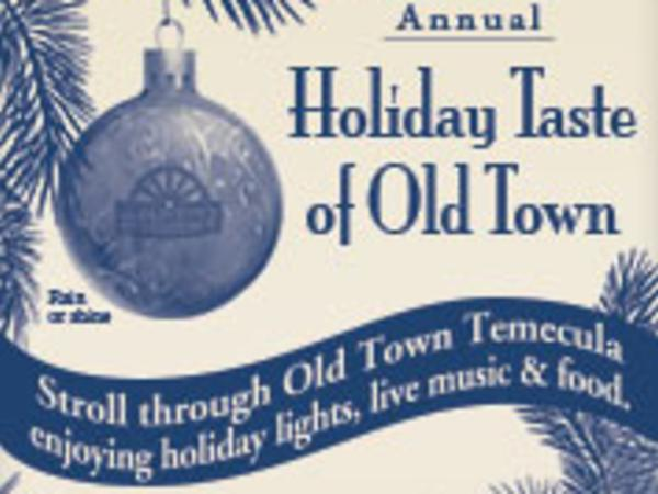 Holiday Taste of Old Town