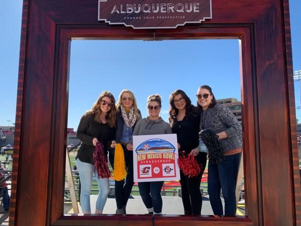 New Mexico Bowl Visit ABQ Frame