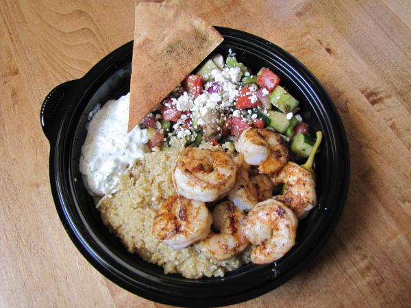Taziki's quinoa bowl