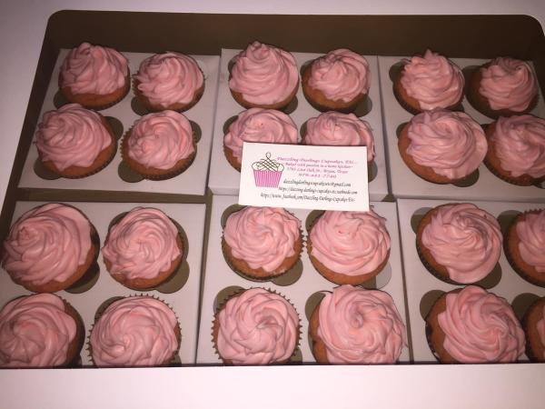 Dazzling Darlings cupcakes