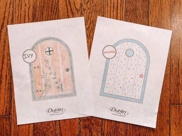 Sample Fairy Doors