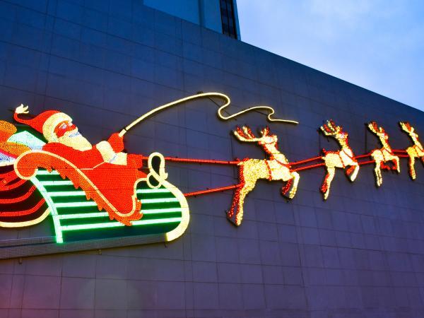 Santa Holiday Display