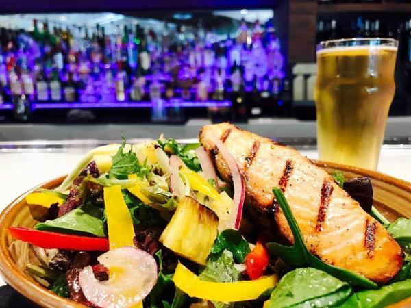 Salmon Salad at Proximo
