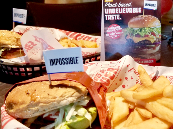 The Impossible Burger Meal in Fort Wayne, Indiana