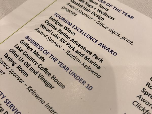 Tourism Excellence Award