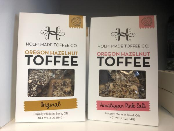 Holm Made Toffee at the Adventure Center by Diana Wells