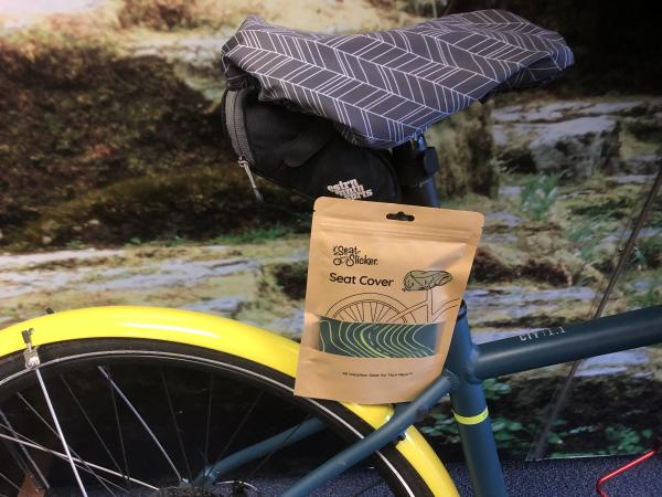 Seat Slicker Bike Cover by Diana Wells