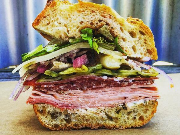 Oakville Grocery sandwich