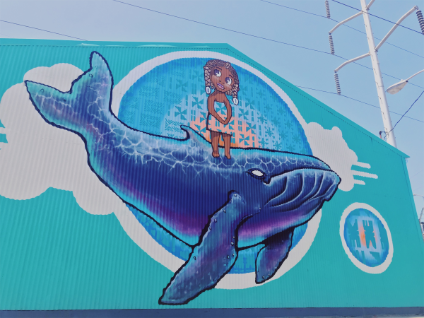 Warmer Waters Mural