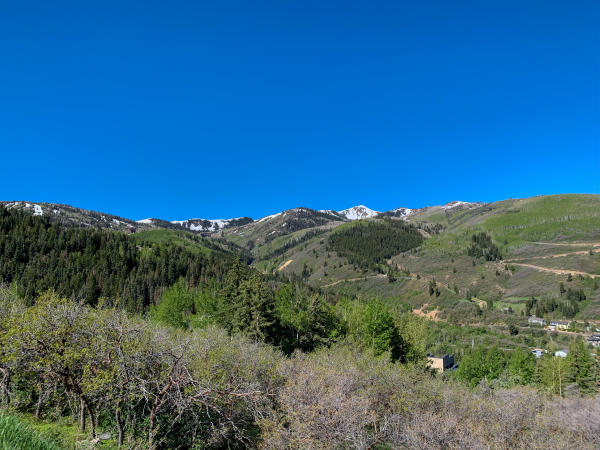Scenic View of Park City Mountain