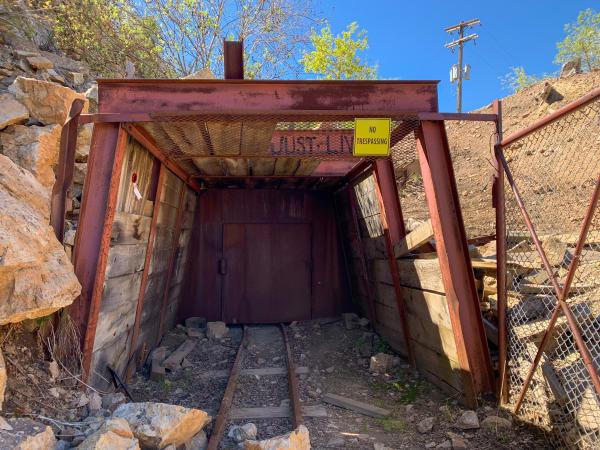 Entrance to a Mine Shaft