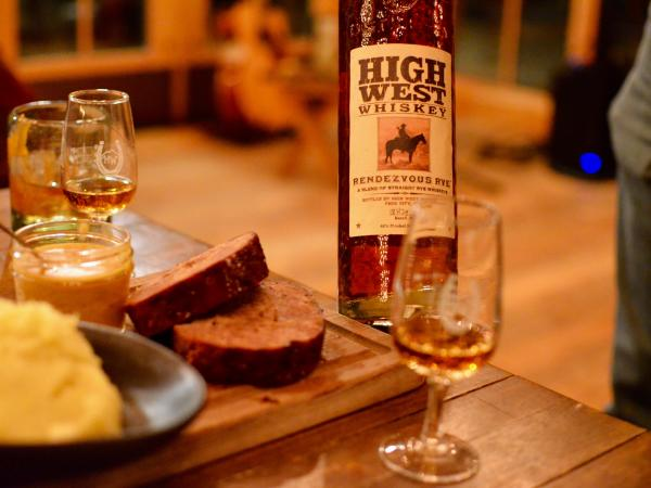 Whiskey pairing with dinner