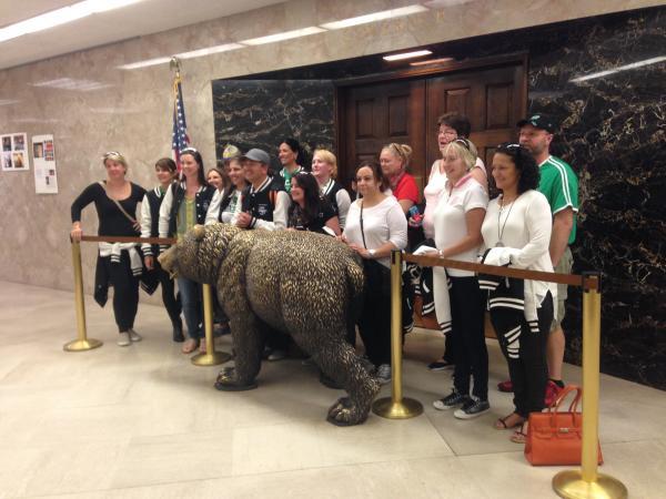 CA State Capitol Bear
