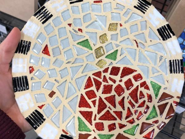 Mosaic art from The Artsy Soul