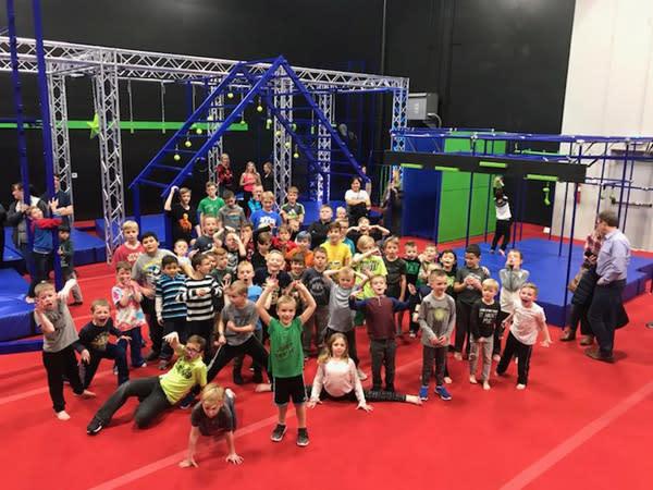 Ninja Course Kids Class