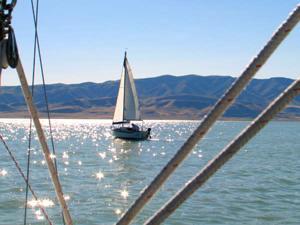Bonneville Sailing on Utah Lake