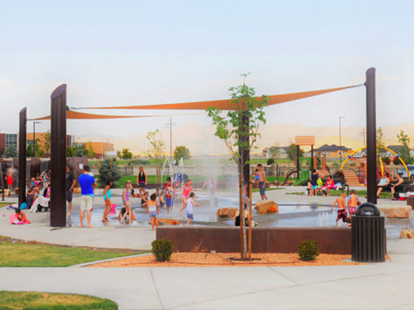 Where to Take Your Toddler in Utah Valley - Splash Pad
