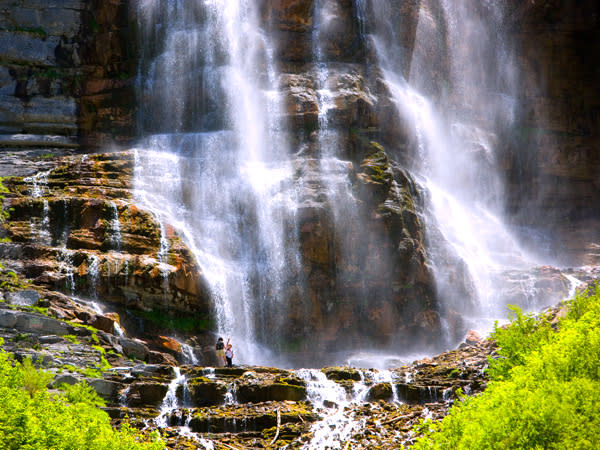 Where to Take Your Toddler in Utah Valley - Waterfall Hike