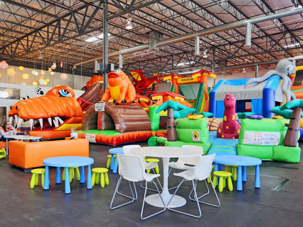 Where to Take Your Toddler in Utah Valley - Bounce Houses