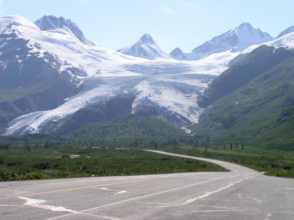 Worthington Glacier and the Richardson Highway