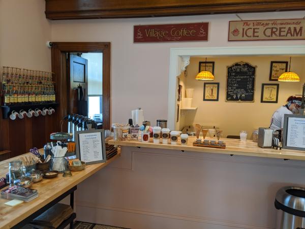 Interior picture of The Village Coffee & Cream in Shrewsbury.