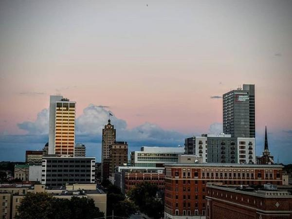 Jonathan Kaufman Photography Downtown Fort Wayne Fall Photo