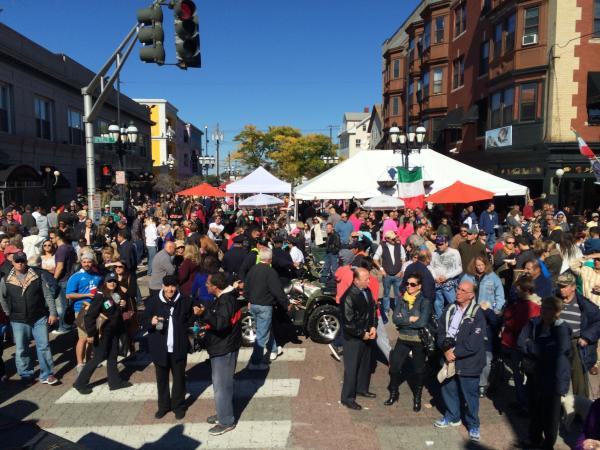Columbus Day Street View