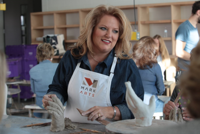 learn clay sculpture at Mark Arts in Wichita KS