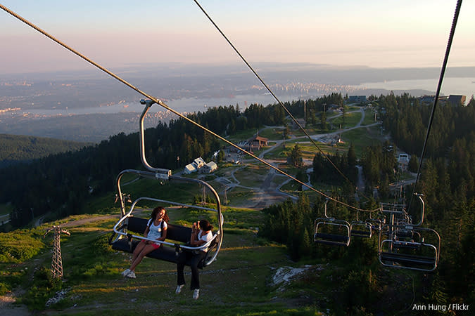 Grouse Mountain Summer